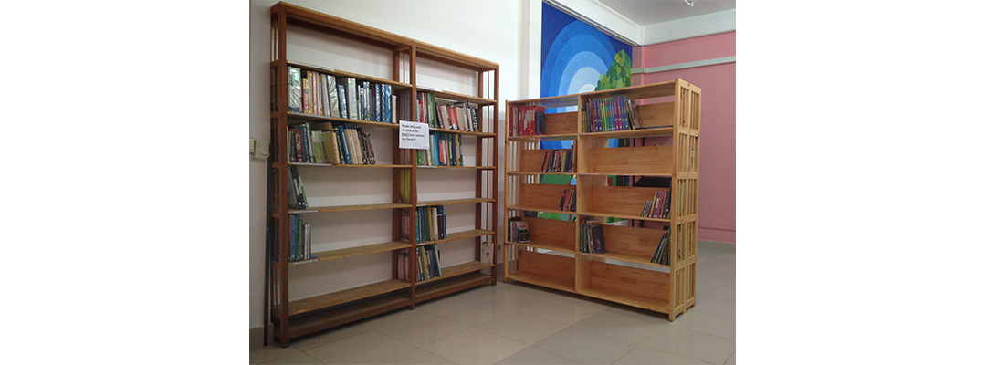 PN Cambodia – The Library Project: a new taste for reading!