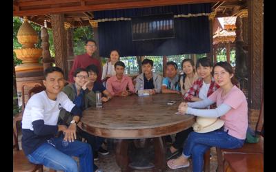 Cultural Gateways: Alumni from Vietnam visiting Cambodia!